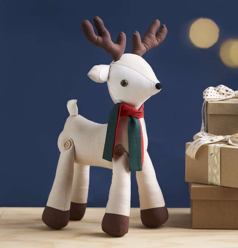 Soft Toy Reindeer Project