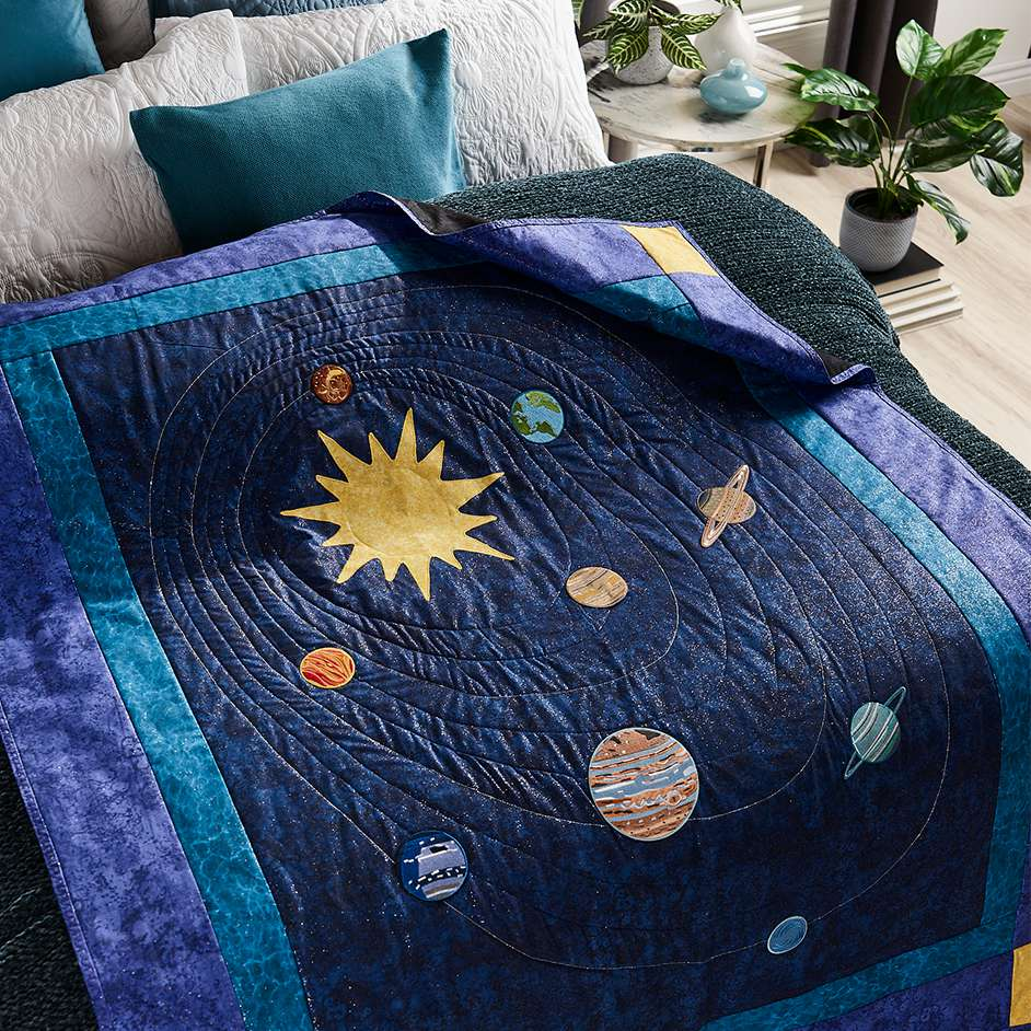 Solar System Quilt Project
