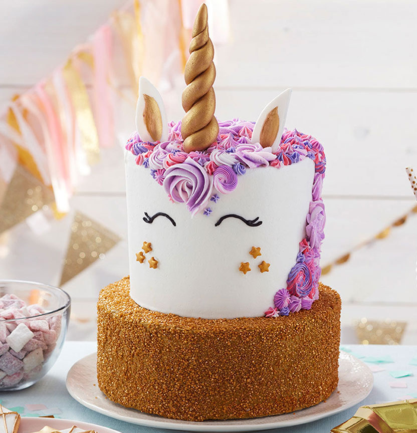 Sparkling Unicorn Cake Project