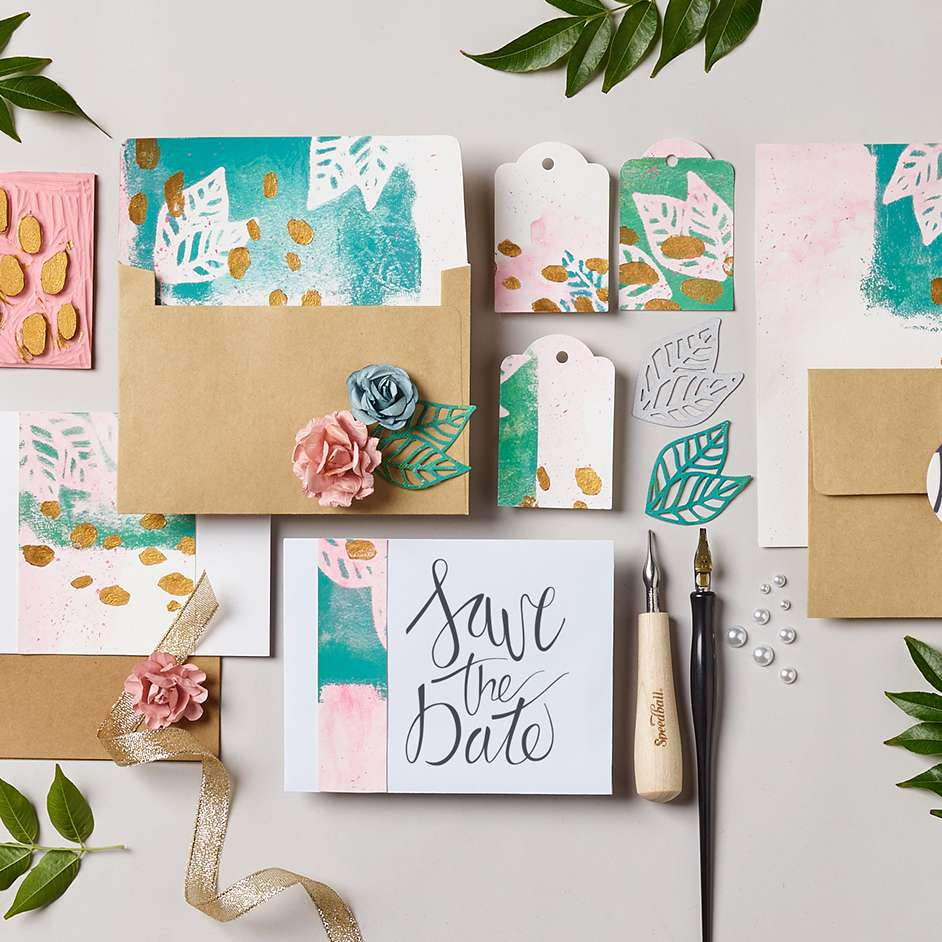 Speedball Stationery Project
