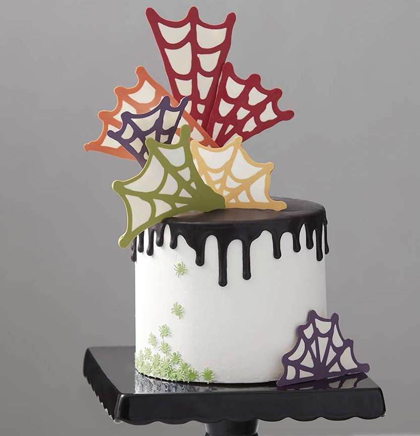 Spinfully Delicious Spider Web Cake Project