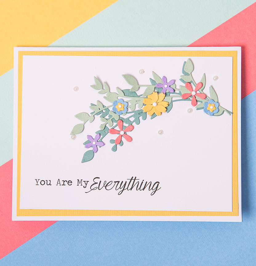 Spring Foliage Card Project