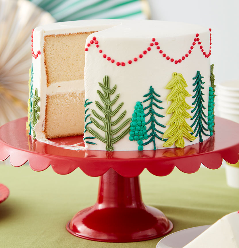 Spruced Christmas Tree Cake Project