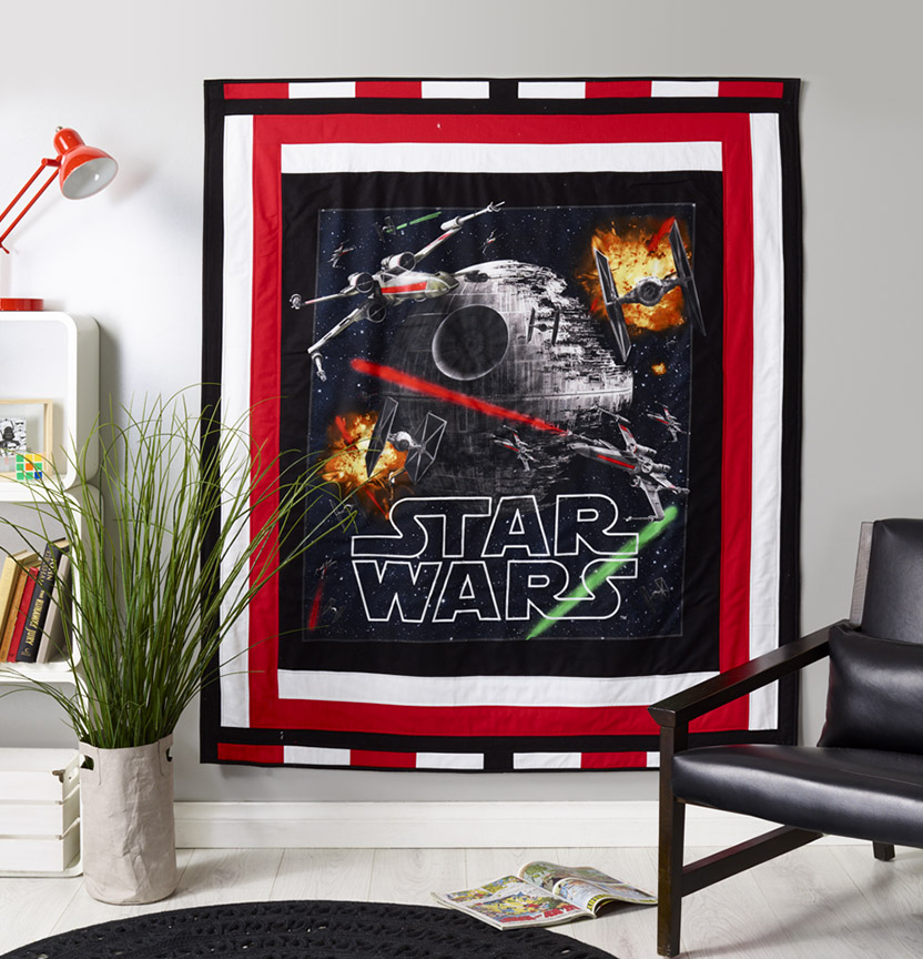 Star Wars Quilt Project