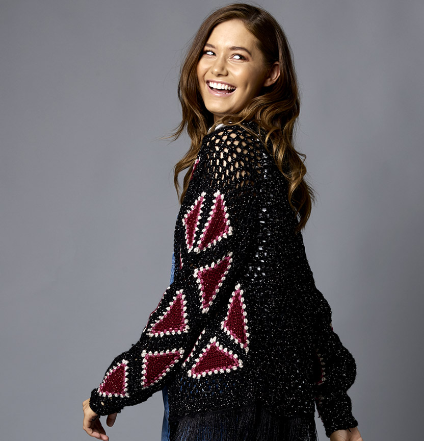 Starlight Crochet Jacket Project