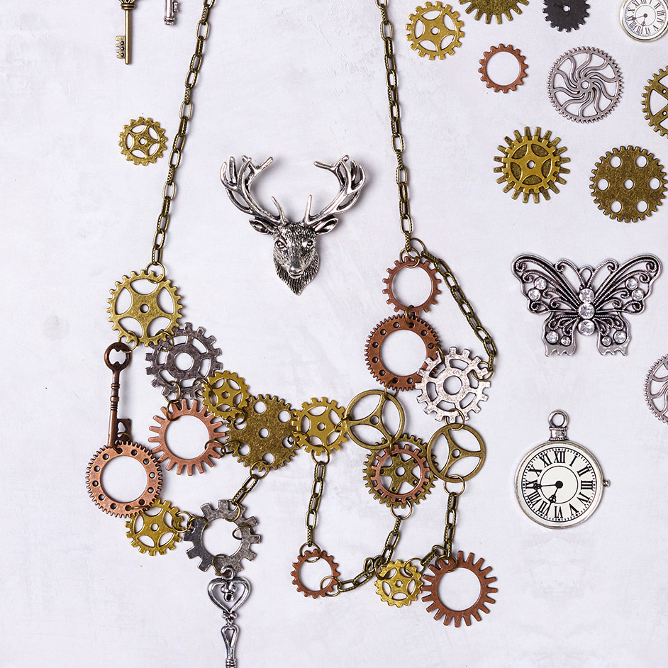 Steampunk Gear Necklace Project