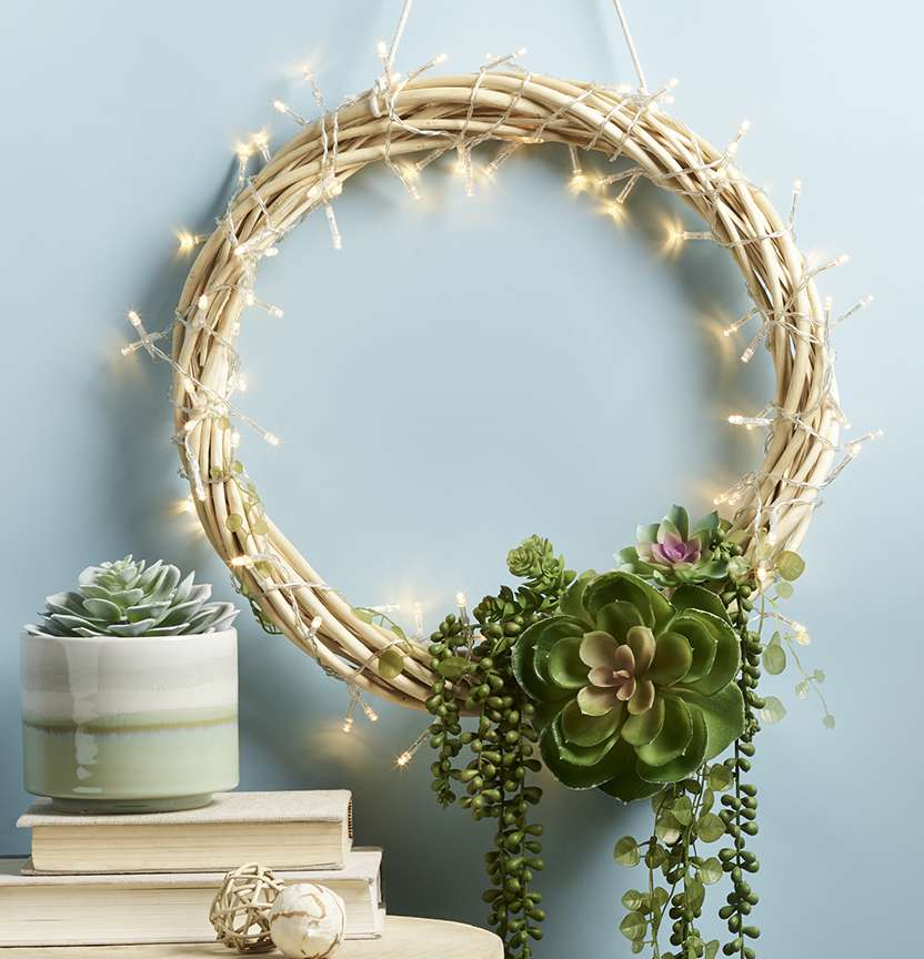 Succulent Wreath Project