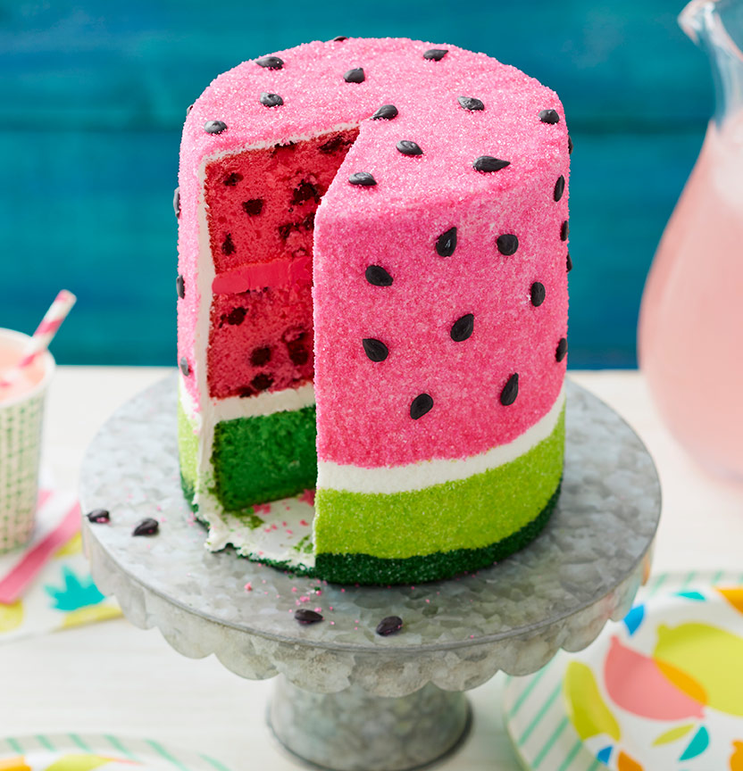 Summer Watermelon Cake Project