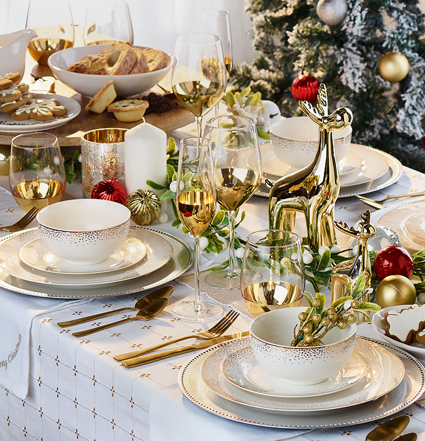 The Perfect Christmas Table Setting Project