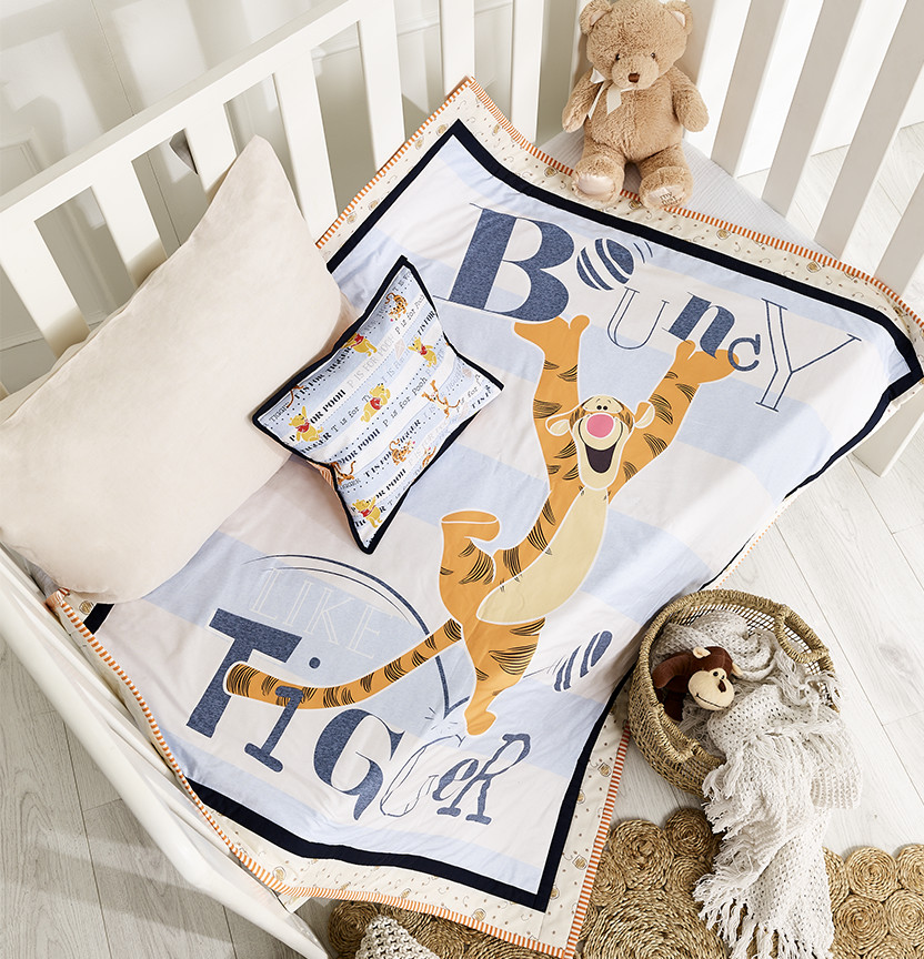 Tigger Cot Quilt & Pillow Project