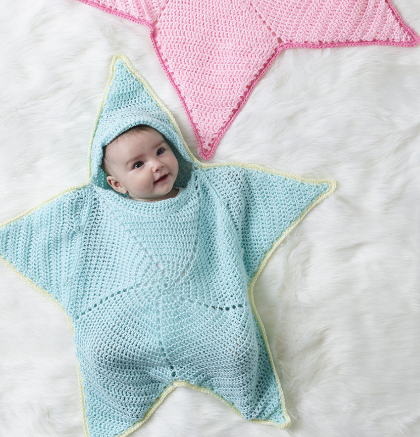 Tizz Crochet Star Snuggle Bag Project