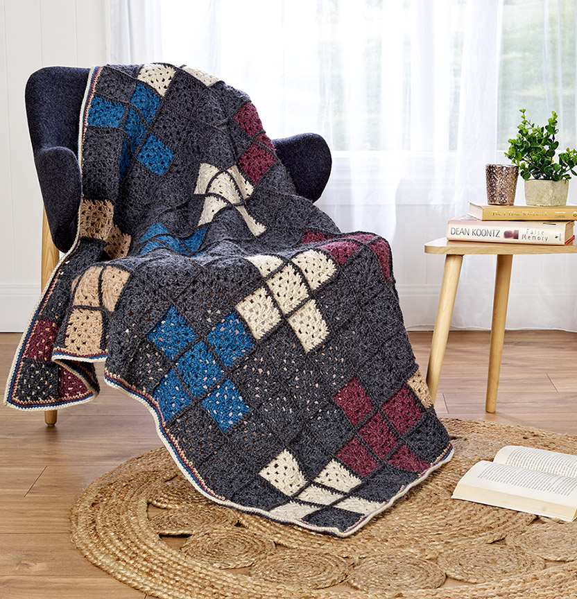 Tolve Crochet Throw Project