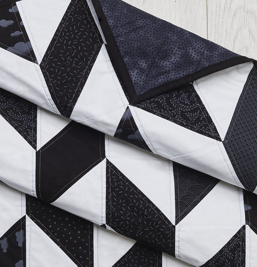 Tone On Tone Herringbone Quilt Project