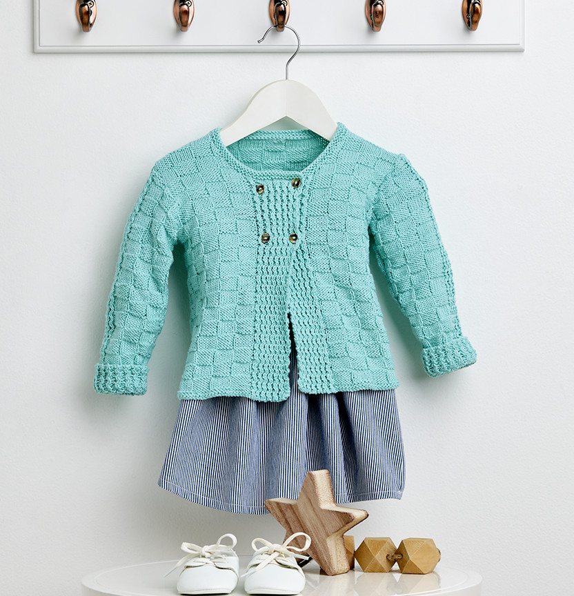Tootgarook Knit Baby Cardigan Project