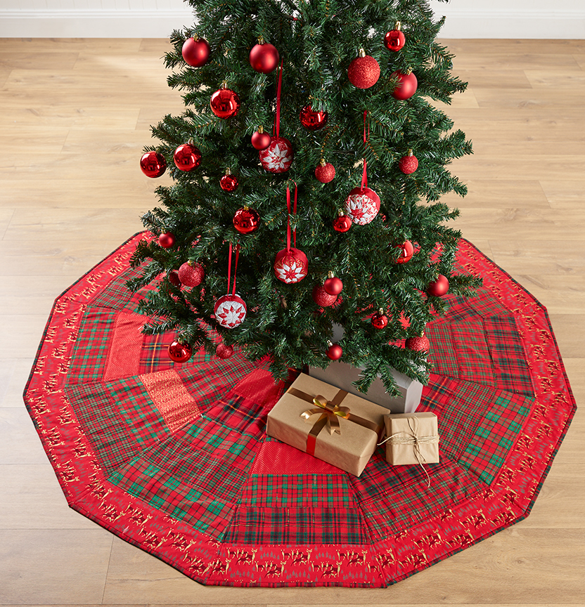 Traditional Tree Skirt Project