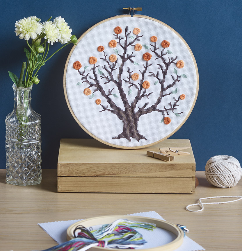 Tree Cross Stitch Project