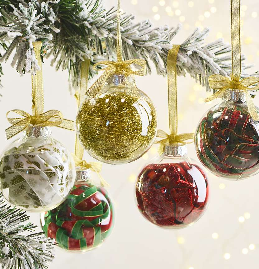 Trim Christmas Baubles Project