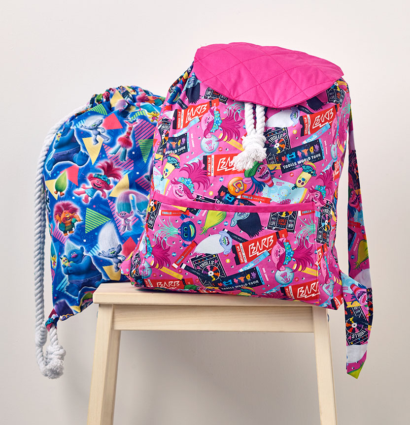 Trolls Backpack Project