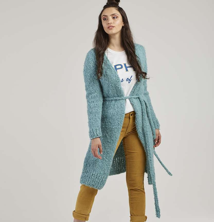 Truly Madly Deeply Wrap Cardi Project
