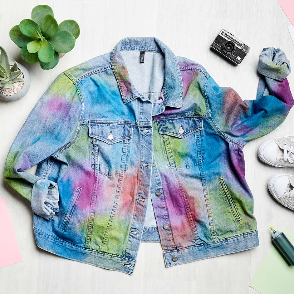 Tulip Tie Dye Denim Jacket Project