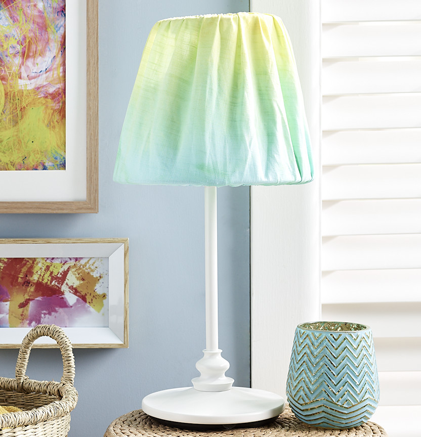 Tulip Tie Dye Lamp Shade Project