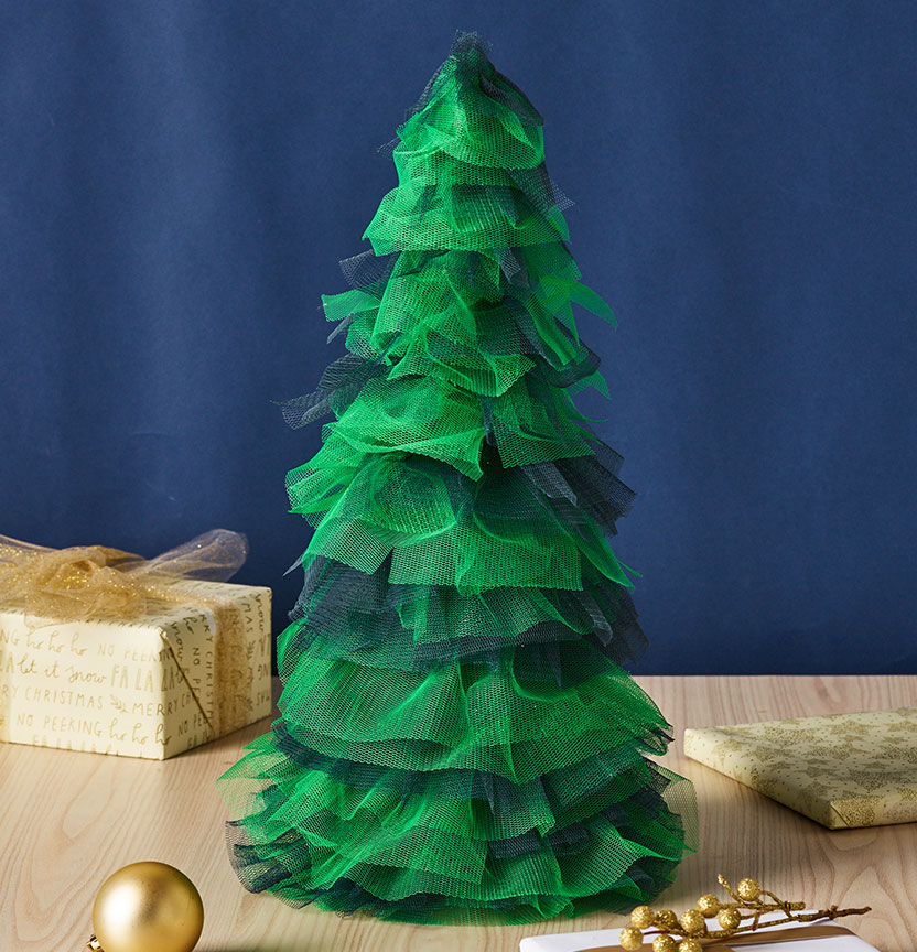 Tulle Christmas Tree Project