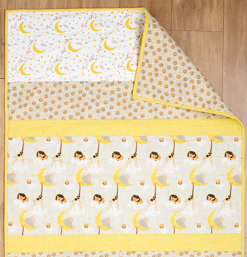 Twinkle Twinkle Cot Quilt Project