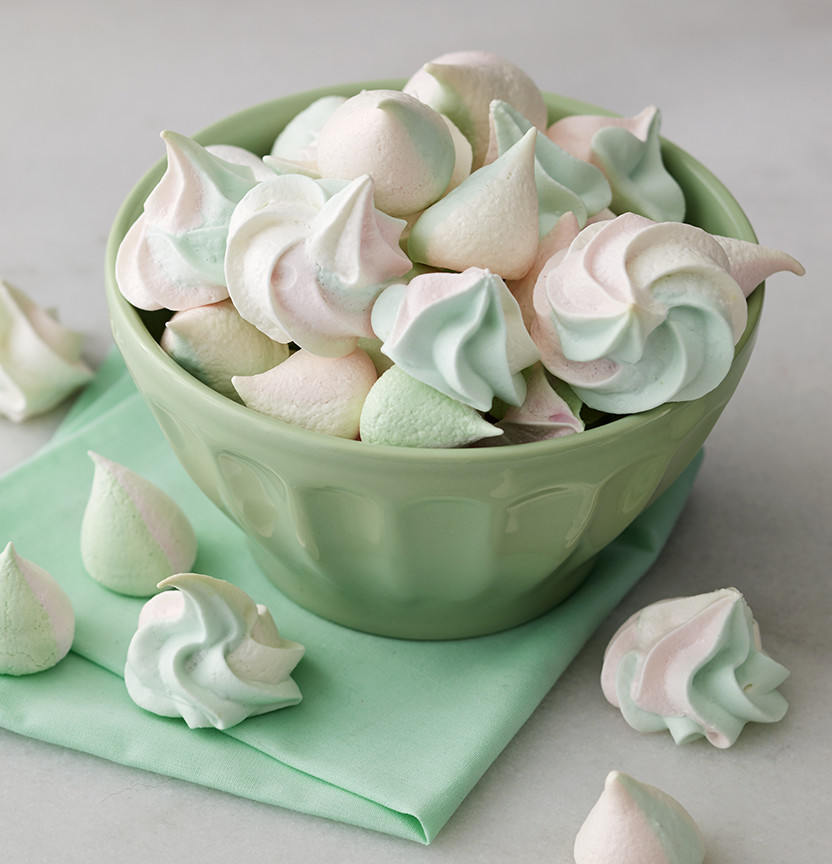 Two Tone Meringues Project