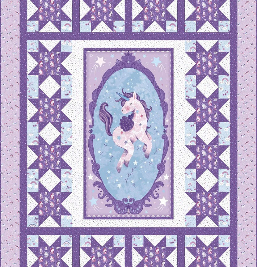 Unicorn Kisses Quilt Project