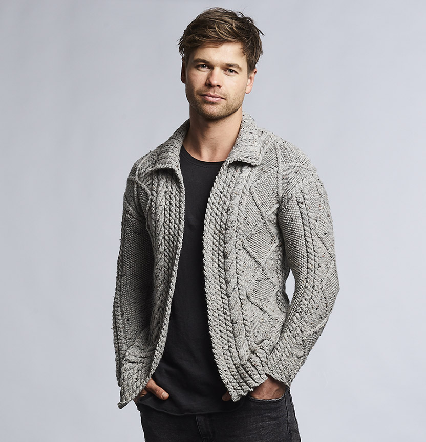 Unisex Aran Cardigan Project