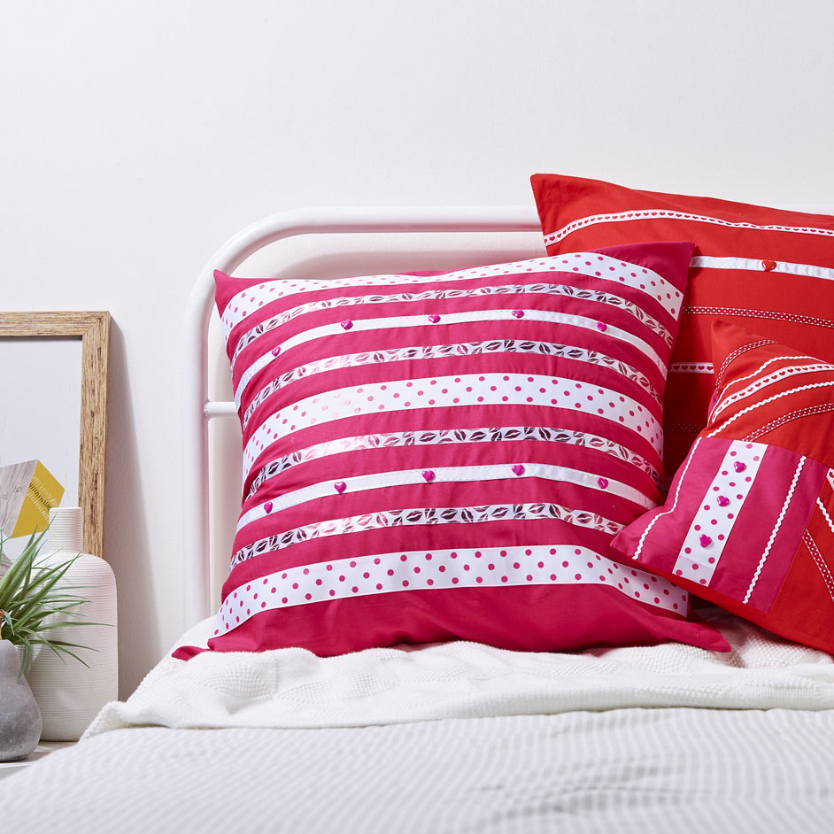 Valentine Cushions Project