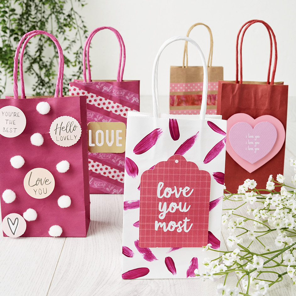 Valentines Gift Bag Project