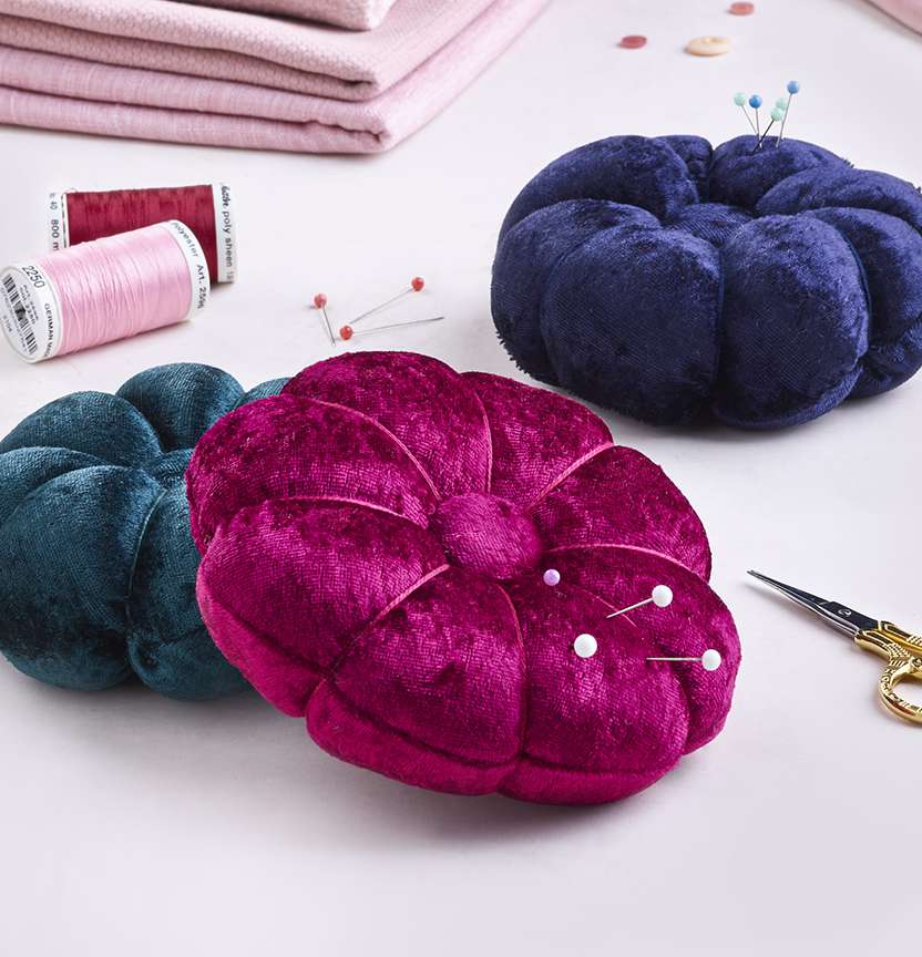 Velvet Pin Cushion Project