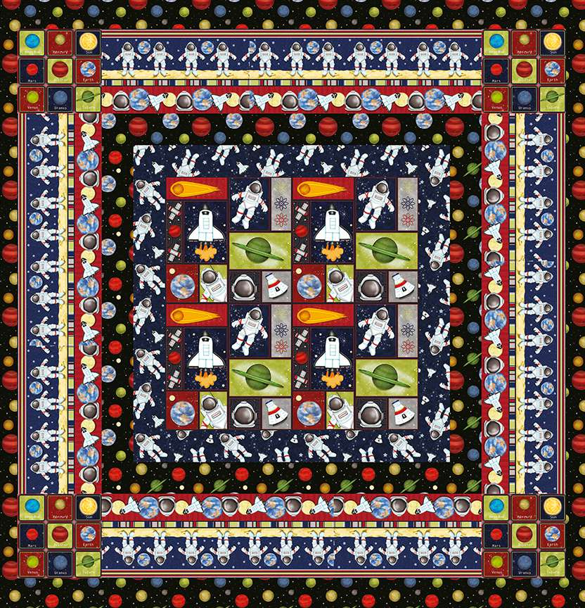 Walk In Space Quilt Project