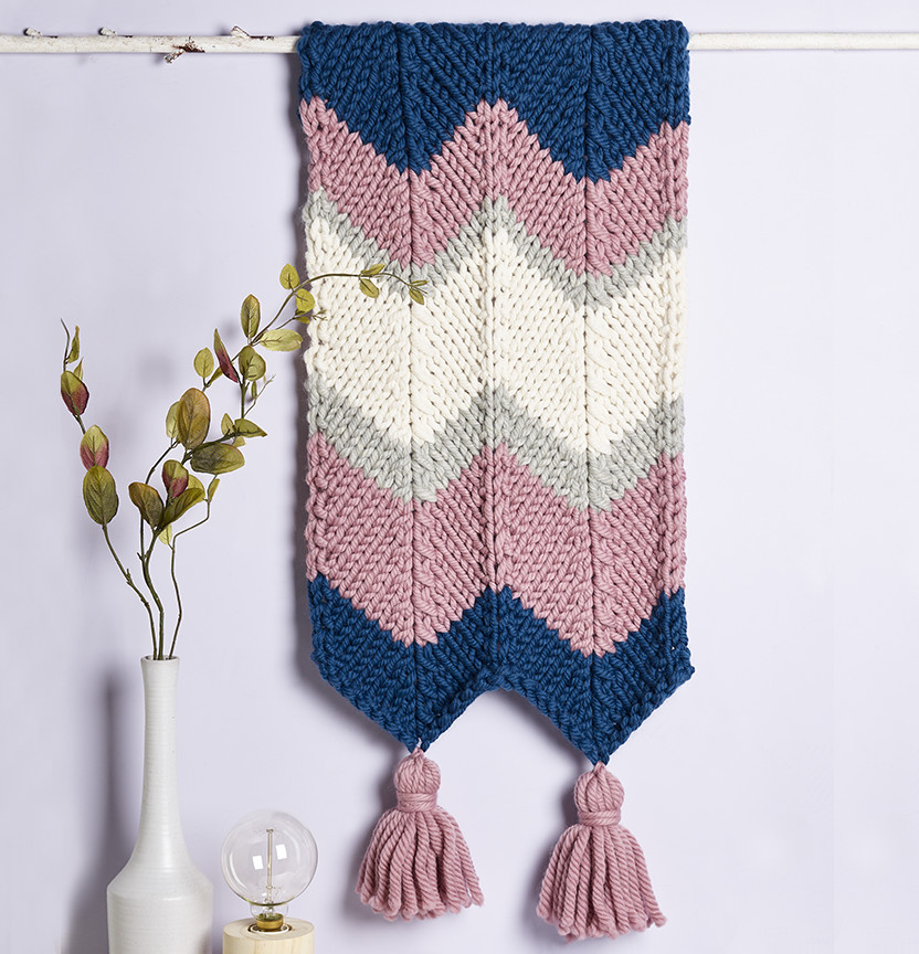 Wonder Wool Wall Hanging Project
