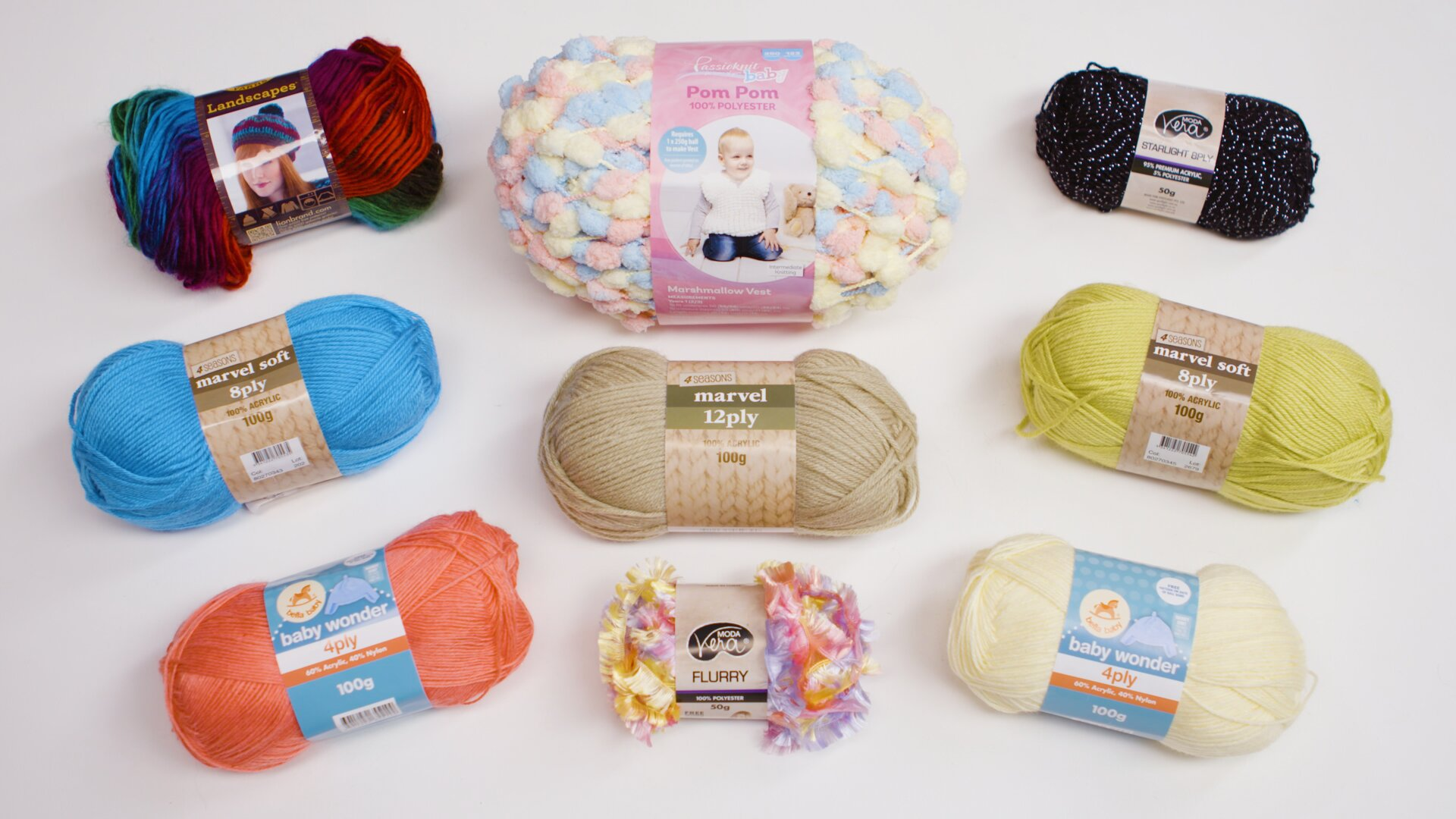 Shop our Differents Blends For Find The Right Yarn